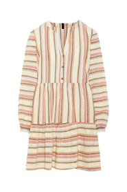 Midi dress Striped organic cotton