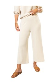 Slftenny MW Cropped Wide Pant