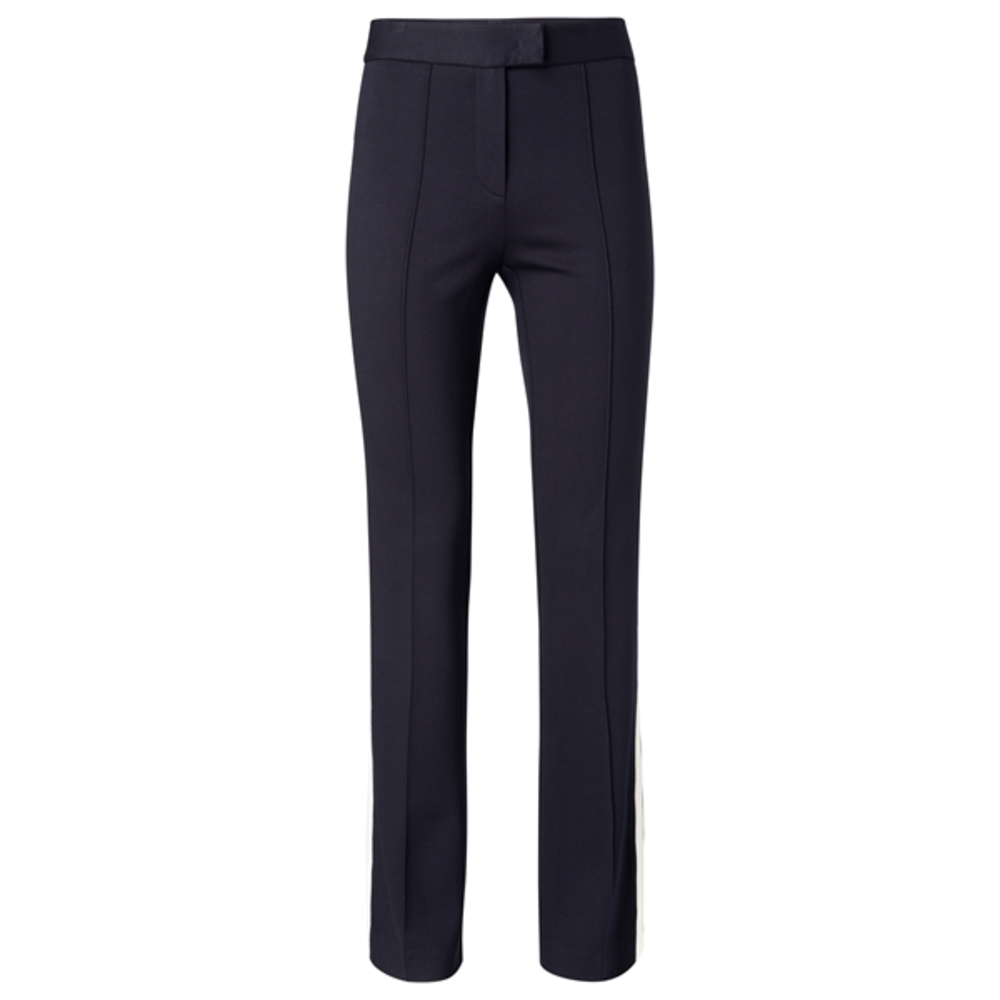 JERSEY FLARED TROUSERS WITH SI