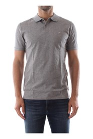 Calvin Klein K10K102964 LOGO RAFFINERET POLO Mænd GREY HEATHER