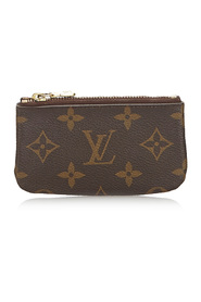 Monogram Key Pouch Canvas