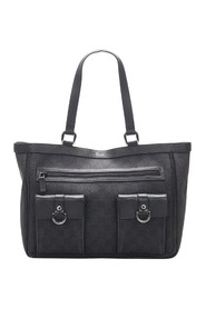 Canvas Abbey D Ring Tote Bag