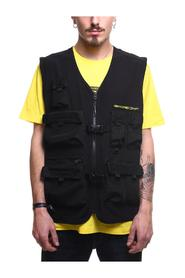 STRETCH LOGO PATCH VEST