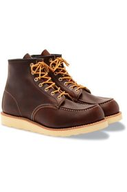 Red Wing Calssic Moc Toe mörkbrun