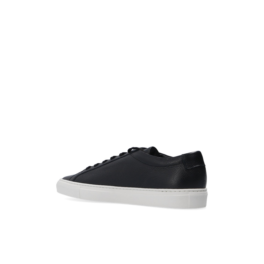 Black 'Achilles' sneakers | Common Projects | Sneakers | 2020 Nytt Herrskor aexrc