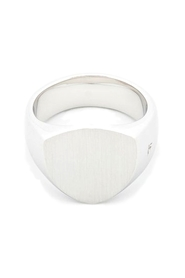Jewellery The Shield Satin Ring