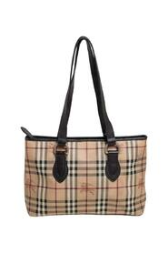 Pre-owned Haymarket Check Coated Canvas and Leather Regent Tote