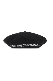 Beret with logo