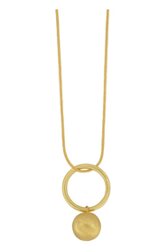 Necklace Tabitha Open Circle