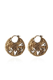 Appliquéd earrings