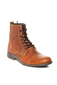 Tan Selected Homme Boots