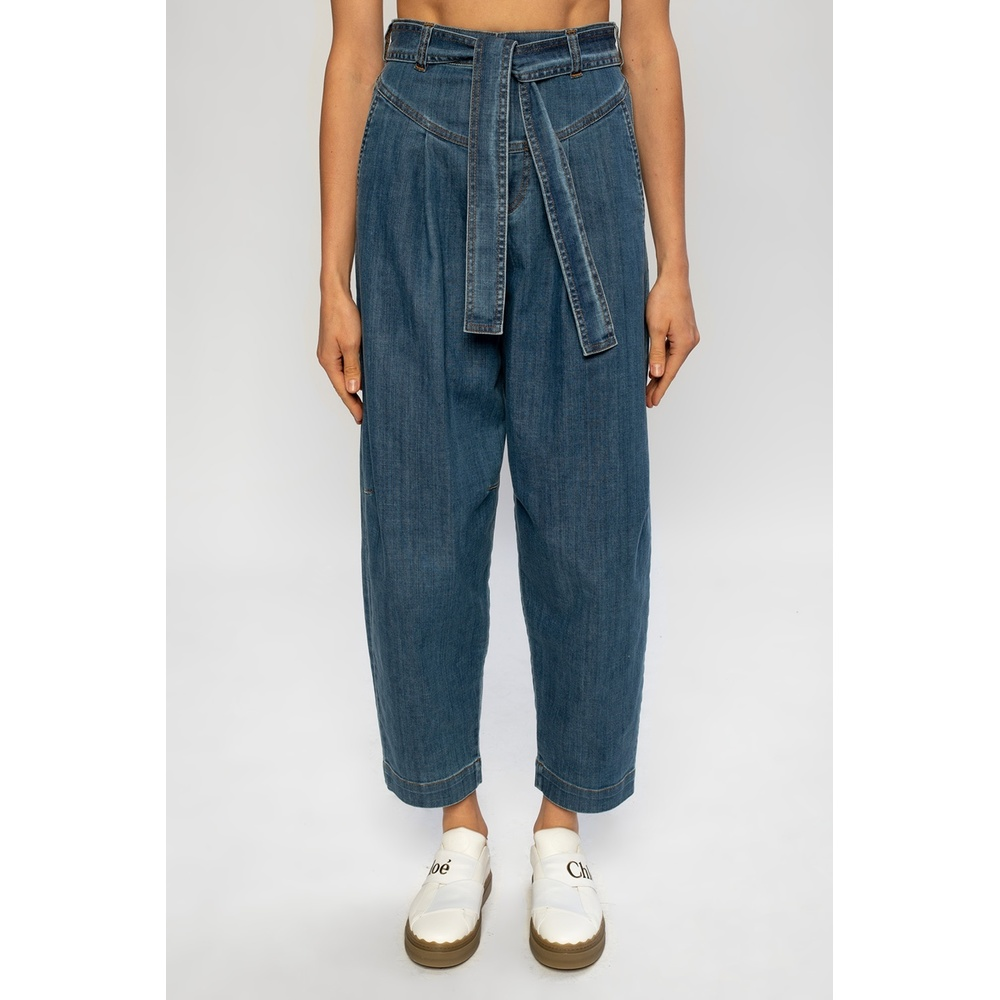 See by Chloé NAVY BLUE Loose-fitting jeans See by Chloé