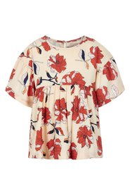 Creamie - Blouse Flower Print SS (820596) - Navajo