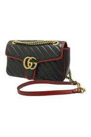 Small GG Marmont Torchon Crossbody Bag Leather Calf