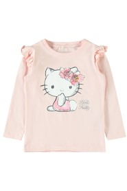 Mini Nmfkitty Ulrika Ls Top Lic T-Shirts & Tops