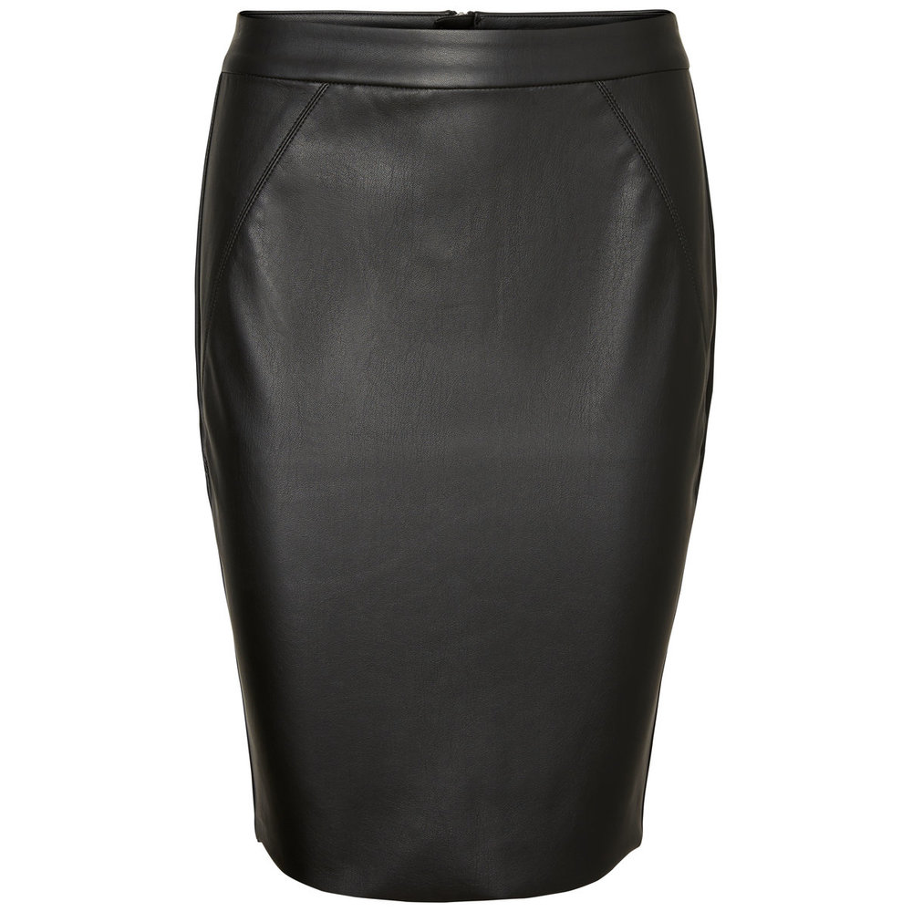 Skirt HW Leather-Look