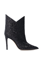 Sequined stiletto boots