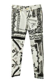 Printed Pants -Pre Owned