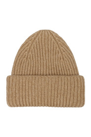 RIBBED WOOL CAP