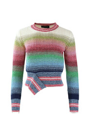 Pastel Striped Knitwear