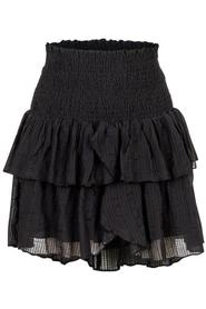 Carin Dobby Check Skirt
