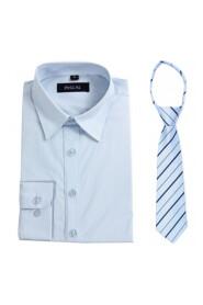 skjorte med slips