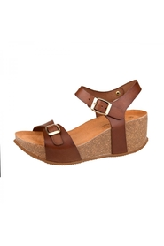 wedges S19643 Cognac