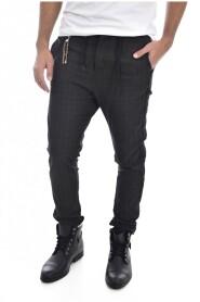 Pantalon tendance carreaux 1353