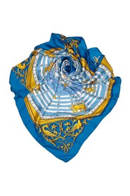This is Hore Silk Scarf