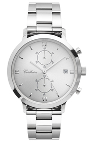 Adler XI Sunray Silver 42mm - Watch