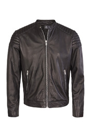 Solid Jacket Stone Black