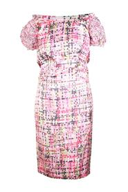 Print Silk Dress -Pre Owned Condition Good