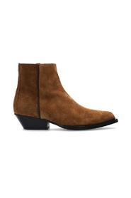 Jun suede ankle boots