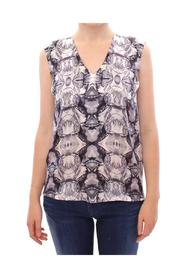 Silk Sleeveless Top