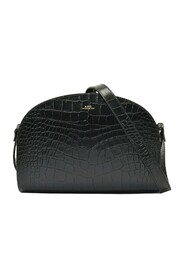 Demi-Lune Bag in Leather