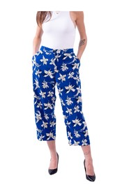 RAMON Floral Printed Trousers