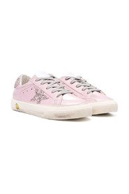 Superstar glitter-detail sneakers