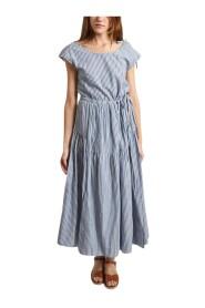 Pasua Striped Long Dress