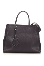 Pre-owned 2Jours Leather Satchel