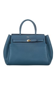 Zipped Bayswater Leather Handbag
