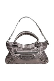 Metallic Edge City Mini Tote -Pre Owned Condition Gently Loved