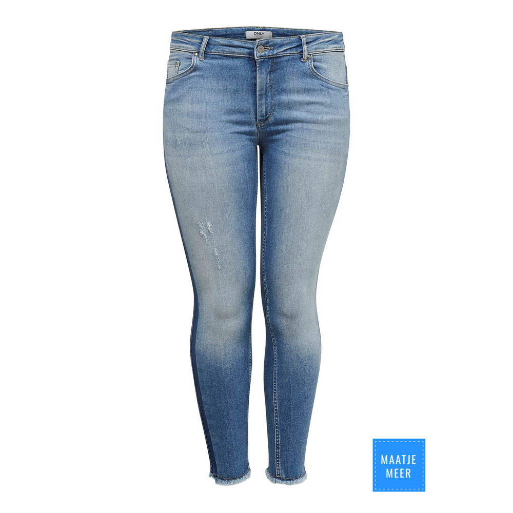 CARWILLY ANK RAW PANEL JEANS REA 18