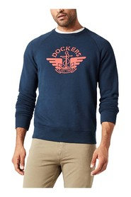 DOCKERS 27410 LOGO SWEATSHIRT SWEATER Men blue