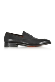 Duke Leather Penny Loafer Shoes