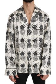 Pineapple Silk Top Shirt