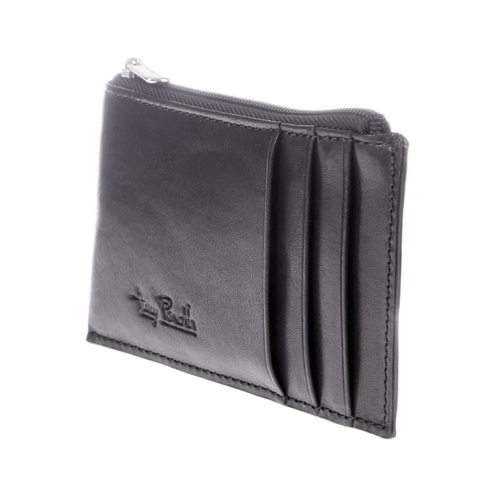 Lille pels tegnebog m RFID beskyttelse
