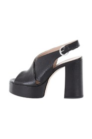 With heel