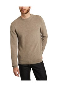 Sailor sweater in extra-fine merino wool made in Italy