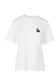 T-shirt z naszytym logo