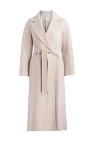 Elisa wool wrap coat